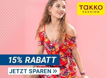 15% Rabatt bei Takko