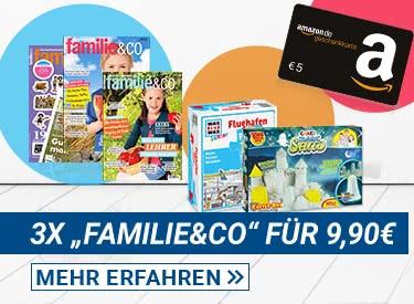 Familie&Co + Gutschein + Prämie