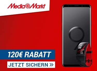Galaxy S9 Angebot bei Media Markt