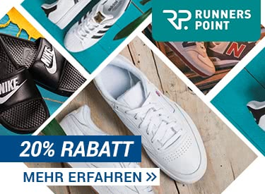 20% Rabatt bei Runners Point