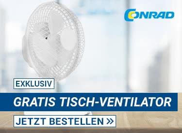 Gratis Ventilator bei Conrad