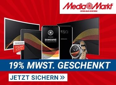 MwSt. geschenkt bei Media Markt