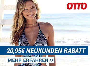 Über 20€ Neukunden-Rabatt bei OTTO