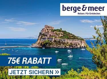 75€ Rabatt bei Berge & Meer