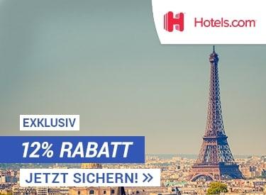 12% Rabatt bei deiner Hotelbuchung