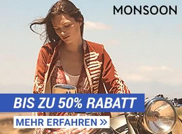 Bis zu 50% Rabatt bei Monsoon