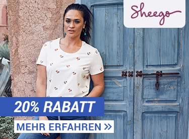 22% Rabatt bei Sheego