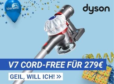 Dyson V7 für 279€