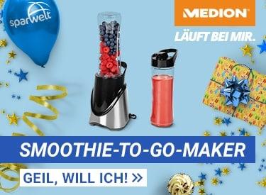 MEDION Smoothie Mixer für 14,95€