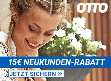 15€ Neukundenrabatt bei OTTO