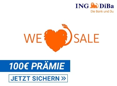 100€ Konto-Prämie bei der ING DiBa