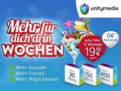Surfen, quatschen, sparen: Telefon & Internet für 19,99€ mtl.