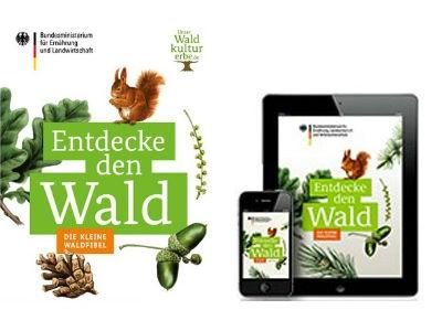 """GRATIS: """"Die kleine Waldfibel"""" als mobile App oder Broschüre"""