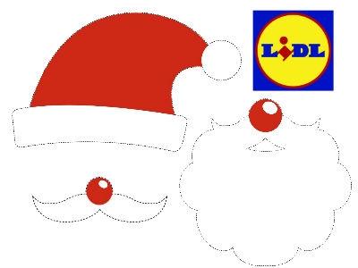 Weihnachtliche Bastelvorlagen von Lidl ausdrucken