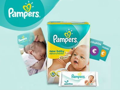 Gratis-Babyartikel, Coupons und Magazin im Pampers-Club