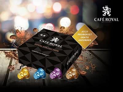 4 Café-Royal-Kaffeekapseln für Nespresso 100% GRATIS!
