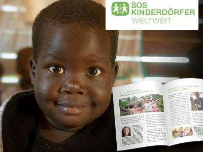 Gratis: Infoanforderung SOS Kinderdörfer-Patenschaft