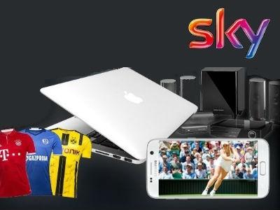 Apple MacBook Pro, Galaxy S7 Edge und mehr mit Sky gewinnen