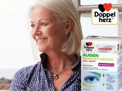 Gratisprobe sichern: Doppelherz Augen Plus
