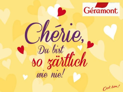 Géramont: Postkarten gratis verschicken