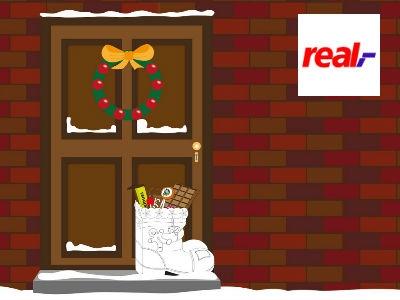 Gratis bei Real: Nikolausstiefel befüllen lassen