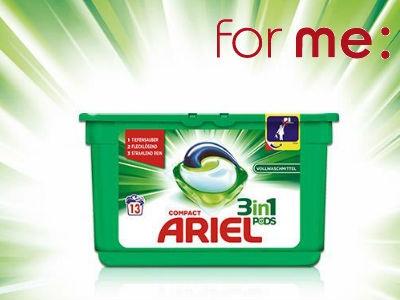 50x Ariel 3in1 PODs Waschmittel zu gewinnen