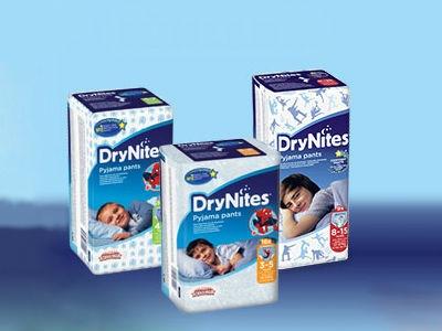 Gratismuster DryNites Pyjama Höschen für Kinder
