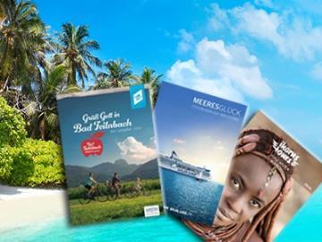 Urlaubsreif? Top-Reisekataloge gratis bestellen!
