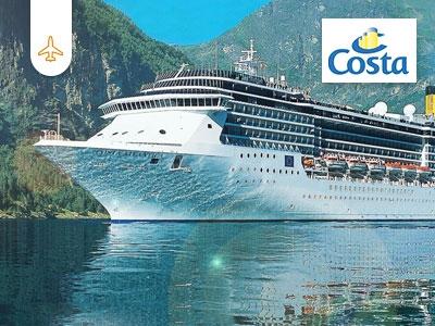 5 exklusive Costa-Kreuzfahrten gewinnen
