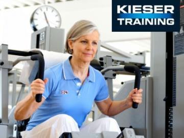 Gratis trainieren beim Fitnessstudio Kieser Training