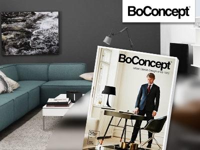 BoConcept Designmöbel-Katalog gratis & versandkostenfrei