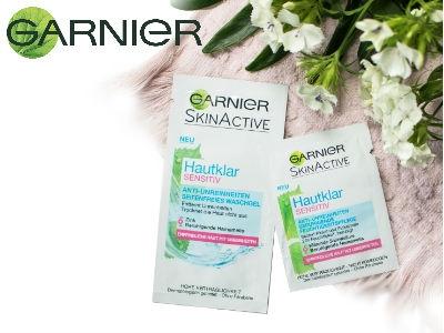 Garnier SkinActive Hautklar: 22.222 Gratisproben