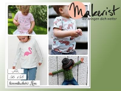 Gratis bei makerist: Nähanleitung Kindershirt
