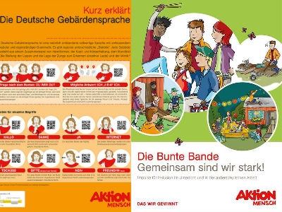 """Aktion Mensch"": Poster, Malvorlagen uvm. gratis"