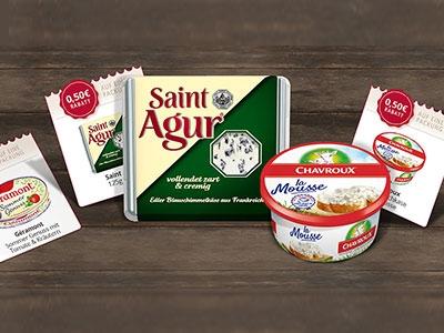 Bis zu 7,50€ Cashback auf beliebte Käse-Produkte