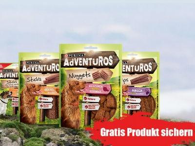 10.000 Gratisproben: Purina AdVENTUROS