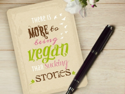 GRATIS Postkartenset mit veganen Sprüchen