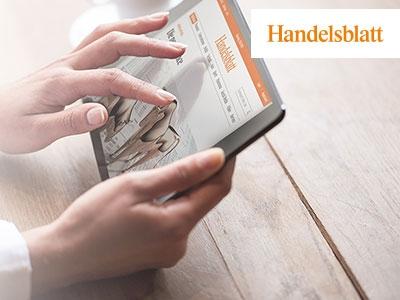 """""""Handelsblatt"""" Digitalpass 6 Wochen gratis!"""
