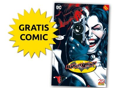 "NUR am 23.09.2017: ""Harley Quinn""-Comic gratis"
