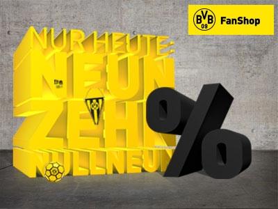 19,09%  Rabatt im BVB-Fanshop