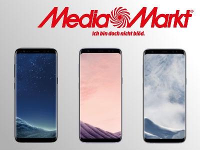 Media Markt: Samsung Galaxy S8 im Tarif für 19,99€ monatlich!