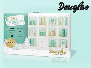Vorfreude ist die schönste Freude: Douglas-Adventskalender