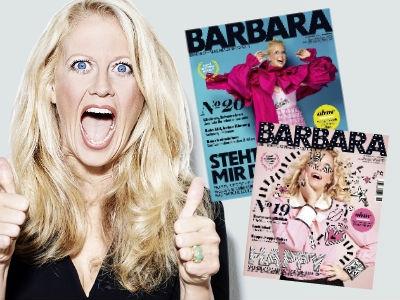 """""""Barbara"""" ePaper 2 Ausgaben gratis – endet automatisch!"""
