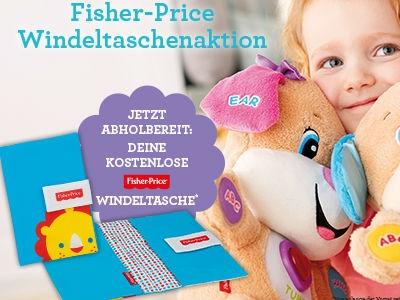 Fisher-Price Windeltasche gratis abholen (lokal)