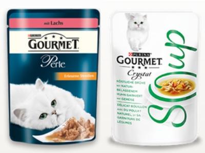 2 GOURMET-Futterproben für eure Katze