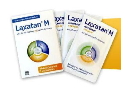 """3 """"Laxatan M"""" Gratisprobe gegen Verstopfung"""