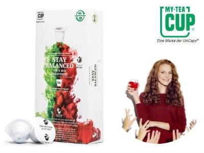 3 gratis Teekapseln von My-Teacup sichern