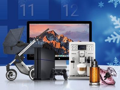 Online-Adventskalender 2017: Bei 150 Shops gewinnen & sparen