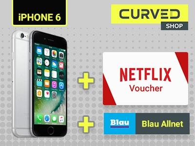 Allnetflat L/XL + Top-Smartphone + Netflix-Gutschein