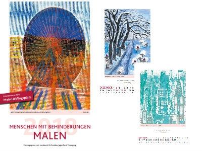 """Gratis Kalender """"Menschen mit Behinderungen malen"""" für 2018"""